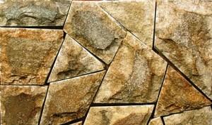 Укладка дорожки и отделка фасада Луганским камнем