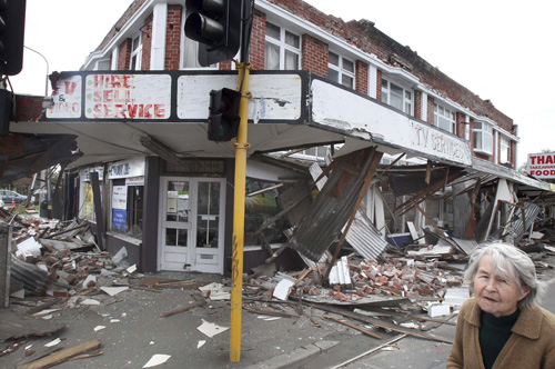 Стихия: последствия землетрясения
