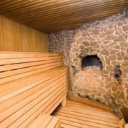 Монтаж потолка бани
