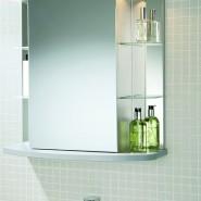Установить зеркало в ванной