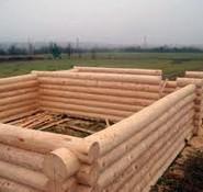 Cтроительство сруба дома