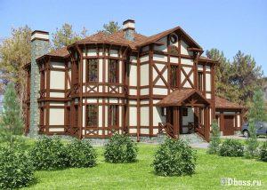 Дома в немецком стиле