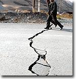 Кыргызстан: После землетрясения в селе Нура осталось только четыре целых дома (фото)