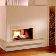 Отопление современного дома дровами
