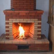 Камин, просто отопление, а также эстетика открытого огня