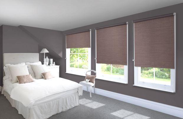 Рулонные шторы на окна — модный дизайн, доступная цена