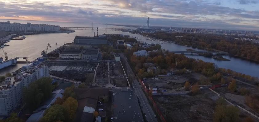 Санкт-Петербург, остров Петровский